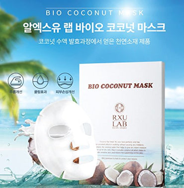 RXU Bio Coconut Mask 5 sheets