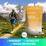 SUPERWELL Maca Powder (15 Oz / 212 Servings) | Maca Root Powder 100% USDA Organic | Raw | All Natural | Premium Superfood | Improves Health, Mood,...