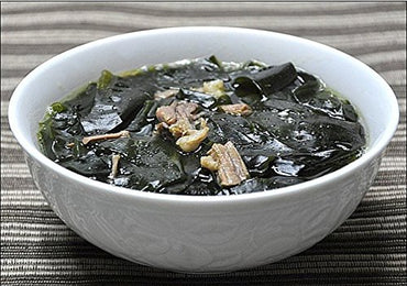 Korean Bibigo Pre-made Packaged Seaweed Soup 1 Pack 500g