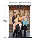 BTS Hanging Painting Art Painting Wall Scroll Poster
