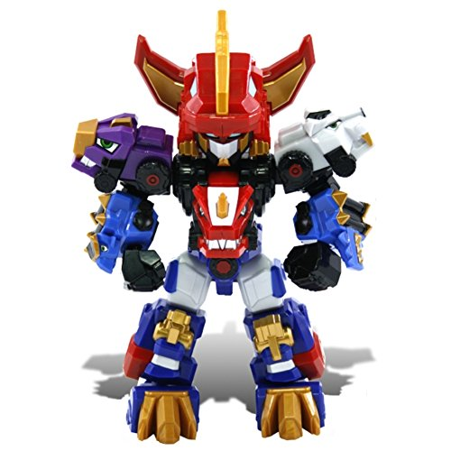 "DinoCore Season 3 Mini Ultra D Buster, 8"" (20cm) Core Switchable Toy Robot with 14 Moving Joints"