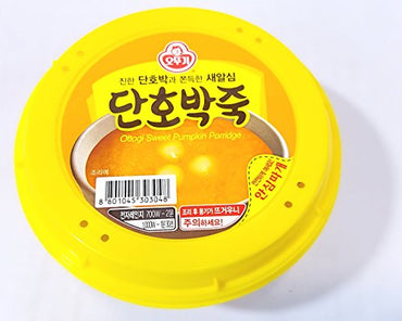 Ottogi Sweet Pumpkin Porridge, 10oz./bowl (오뚜기 단호박죽, 285g 용기죽)