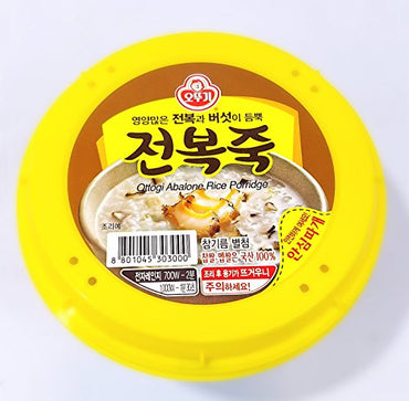 Ottogi Abalone Rice Porridge, 10oz./bowl (오뚜기 전복죽, 285g 용기죽)