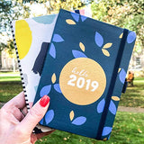 Busy B 2019 Pretty to Do Diary with Tear-Out to Do Lists/Gold Foil Design