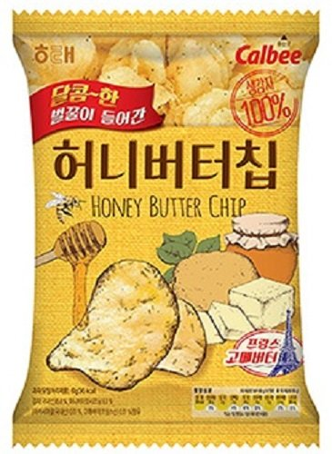 Haitai Honey butter chip, 2.11 Ounce (Pack of 16)