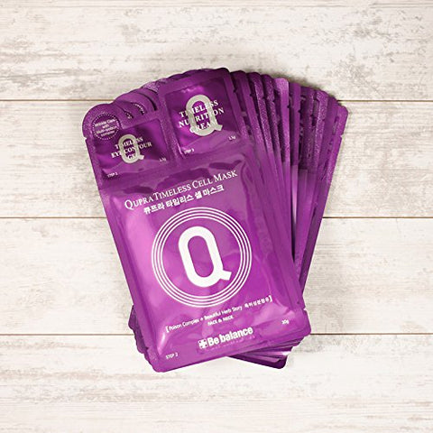 BE BALANCE Qupra Nutri Timeless Cell Mask 10 sheets