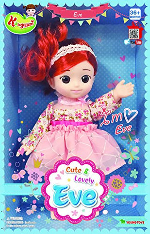 English Package Kongsuni and Friends Eve, Perfect Doll for All Kinds of Role Play