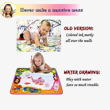 Ubetoone Aqua Magic Mat Kids Toys Water Doodle Drawing Pad Large