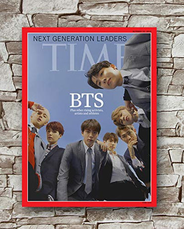 Huawuque BTS Time Asia Edition Coverman Poster Standard Size