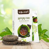 [Dr. MOON] Pu-erh Tea Water Mix 1300 (1g x 14 packets) – Fermented for 1300-Days, 100% Pure Pu-erh Tea from Yunnan Province, High Antioxidant, Natural...