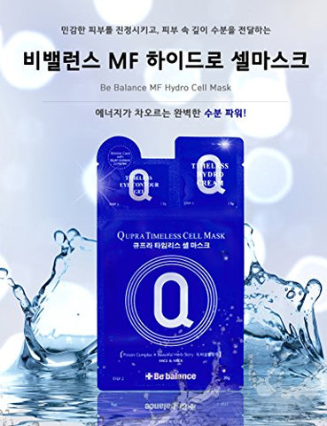 BE BALANCE Qupra Hydro Timeless Cell Mask 1 sheet