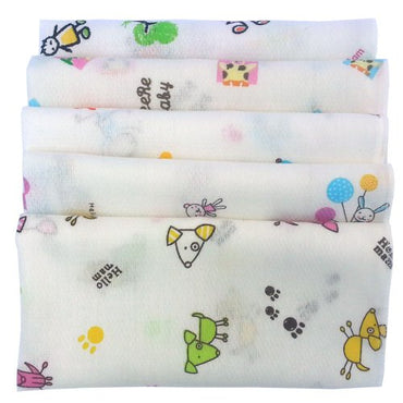 Sweet Layette Baby Bath Washcloths, Wipe - Dye Free, Perfect for Sensitive Skin - 15 Pcs 100% Cotton