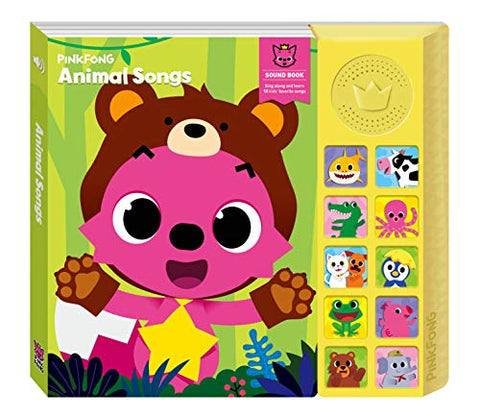 Pinkfong Animal Songs Sound Book