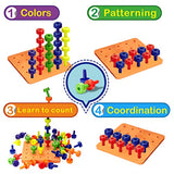 Stacking Peg Board Set Toy