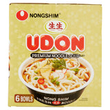 Nongshim Fresh Udon Bowl, 9.73 Oz, 6 CtNongshim Fresh Udon Bowl, 9.73 Oz, 6 Ct