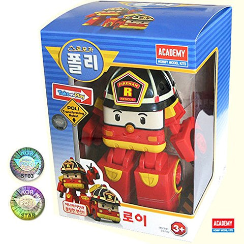 Robocar Poli - Roy Transforming Robot Toy by SilverLit