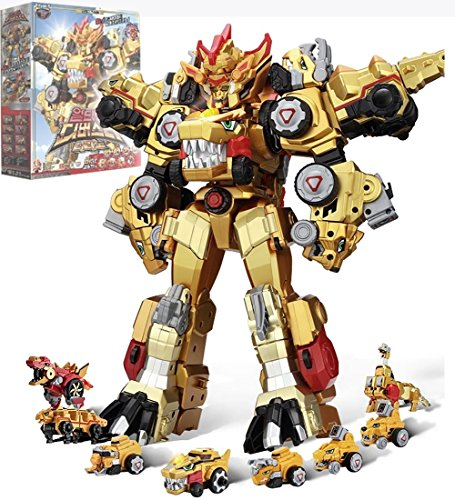 Dino Core Season 3 Ultimate D-Buster TYRANNO 8-Stage Transforming Robot Toy