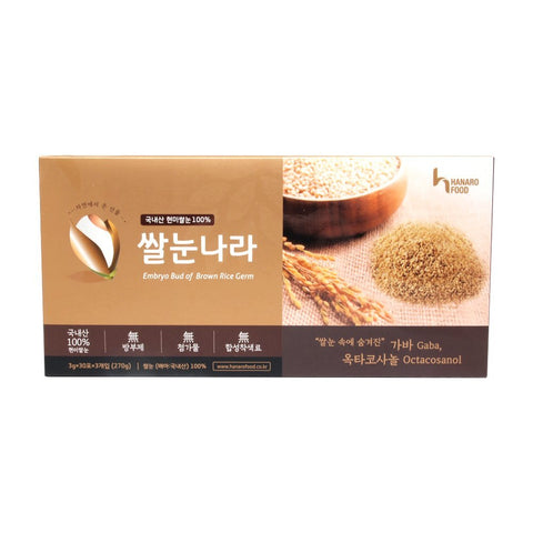 Healthy Dietary Food, Brown Rice Embryo, Brown Rice Powder, Gaba, Octacosanol, Omega 3, vitamin B, daily fiber with essential nutrients made by Hanaro...