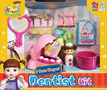 English package Kongsuni Series Learn To Brush Kit Dentist Playset Doctor Kit for Kids Nurse Playset