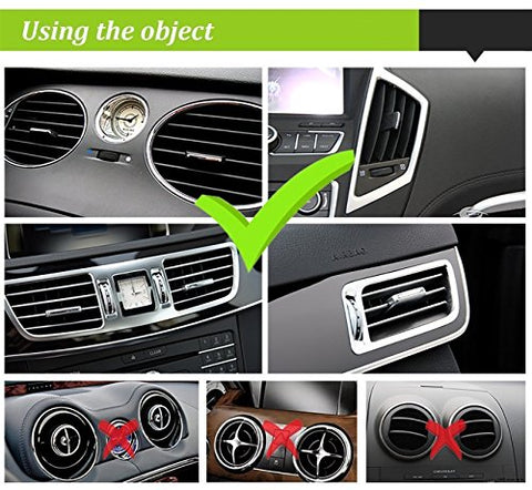 Beam Electronics Universal Smartphone Car Air Vent Mount Holder Cradle for iPhone XS XS Max X 8 8 Plus 7 7 Plus SE 6s 6 Plus 6 5s 5 4s 4 Samsung Galaxy S6 S5 S4 LG Nexus Sony Nokia and More…