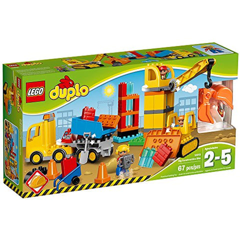 LEGO Duplo Town Big Construction Site Best Toy
