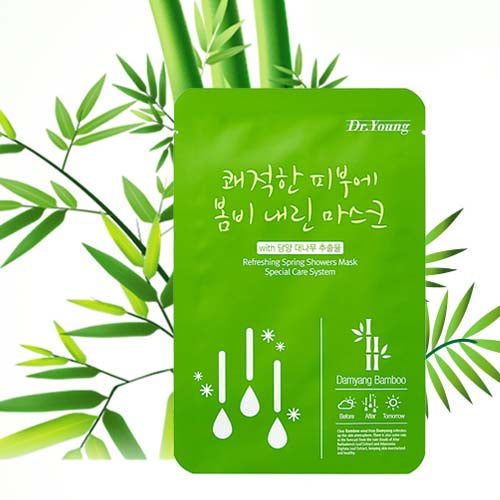 DR.YOUNG Refreshing Spring Showers Mask, 10 sheets
