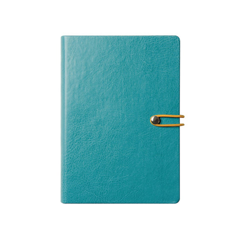 2019 Office Executive Daily Business Diary, Leather Case Bound Organizer Calendar by Daycraft Signature - A5 Size (D881B)