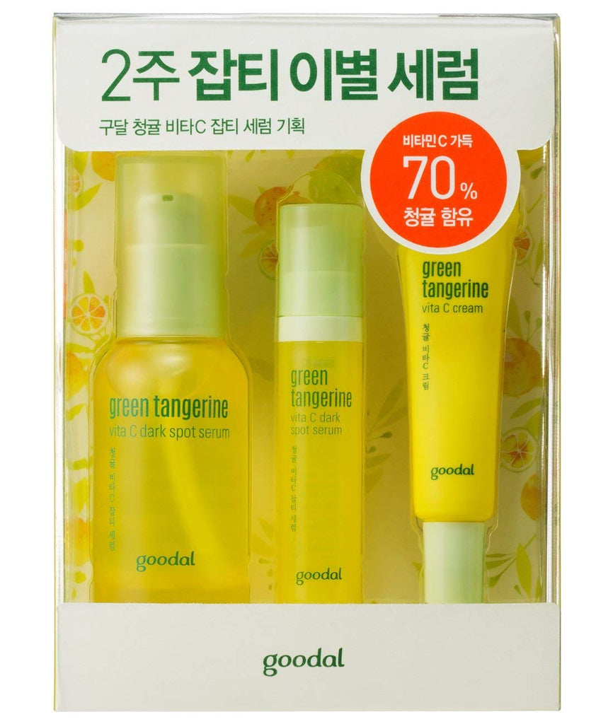 Goodal Green Tangerine Vita C Dark Spot Serum 1.0 Ounce Yellow