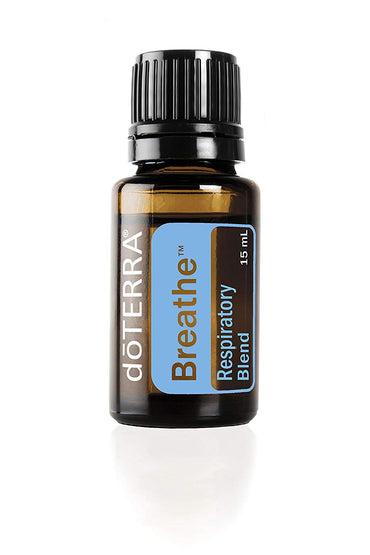 doTERRA - Breathe Essential Oil Respiratory Blend - Promotes Restful Sleep, Feelings of Clear Airways and Easy Breathing, Helps Minimize Seasonal Threat Effects;...