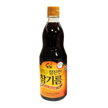 Pure Sesame Oil 18.6oz(550ml)