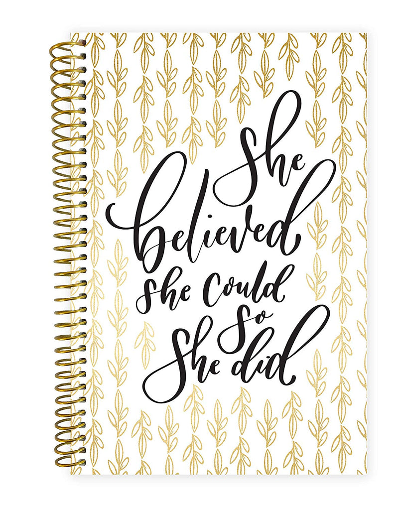 "bloom daily planners 2019 Calendar Year Day Planner - Passion/Goal Organizer - Monthly and Weekly Dated Agenda Book - (January 2019 - December 2019) - 6"" x 8.25"" - Writefully His"