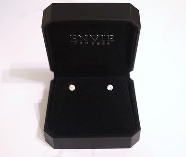 4 Prong Stud Earrings (0.5ct)