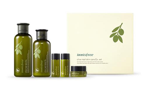 Innisfree Olive Real Skin Care Ex. Set