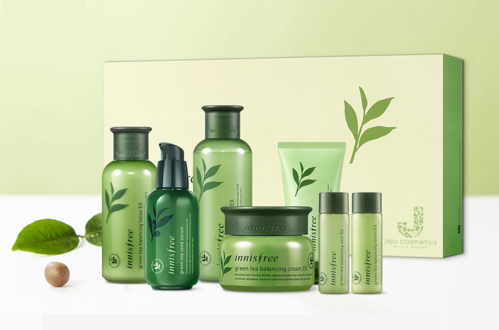 Innisfree Green Tea Special Skin Care Set
