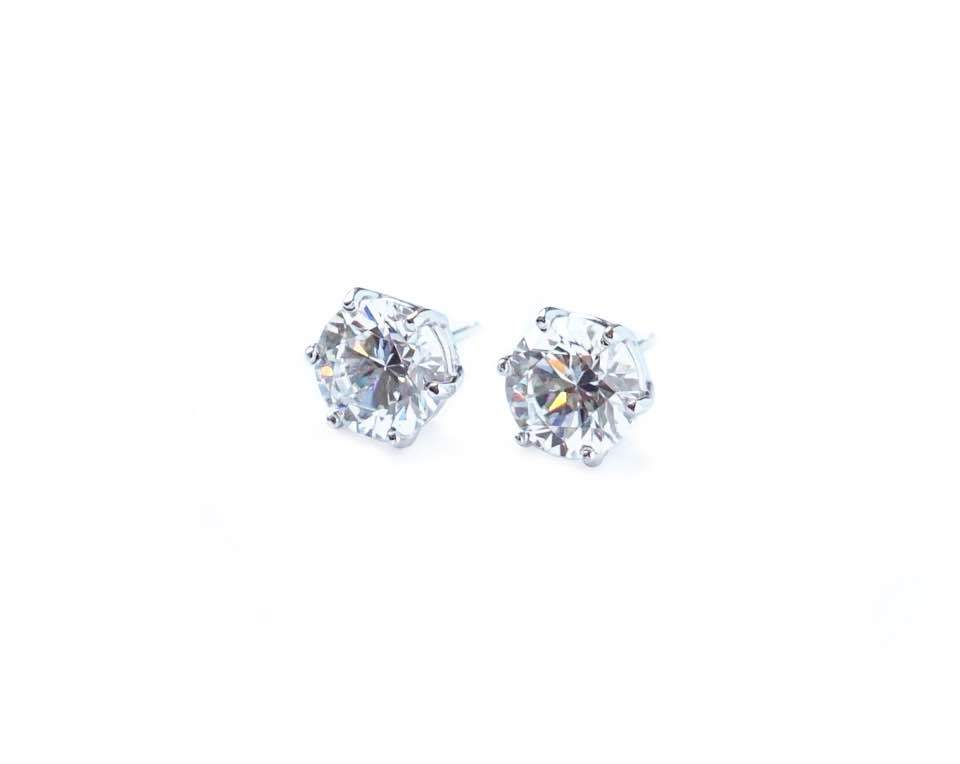 6 Prong Stud Earrings (0.5ct)