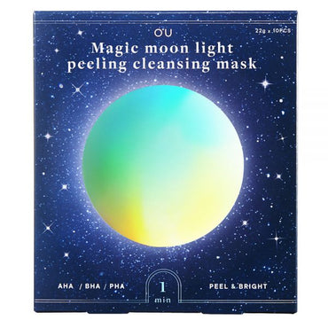 OU Magic Moonlight Peeling and Cleansing Mask, 10 Sheets