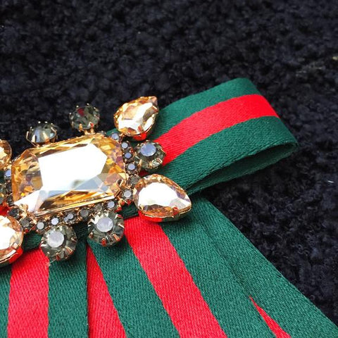Big Ribbon Brooch