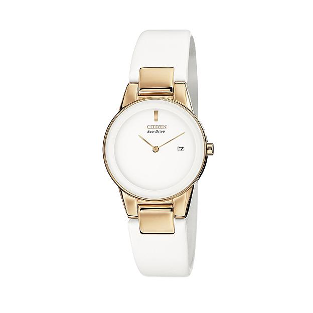 Citizen Ladies' Eco-Drive Rose Gold Tone Strap Watch