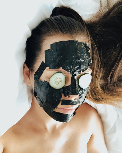 DIY HERBAL SEAWEED PEEL-OFF MASK