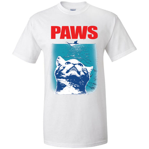 Paws Kitten Meow Parody Funny T-Shirt Cat Lover Gifts