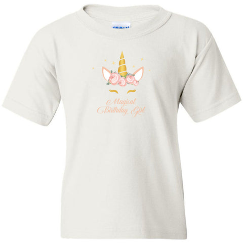 Unicorn Birthday Youth T-Shirt