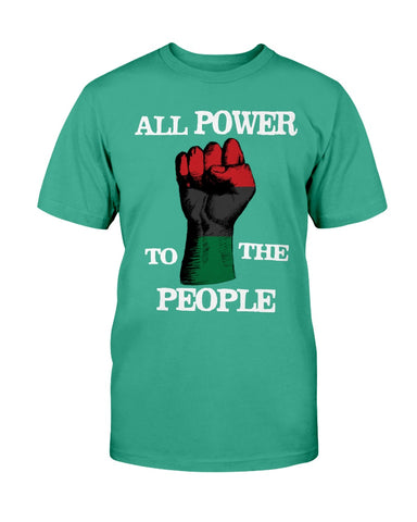 All Power To The People Cotton T-Shirt