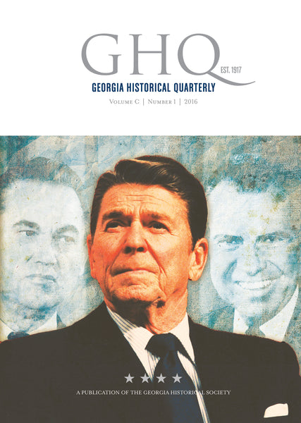 Georgia Historical Quarterly Back Issues