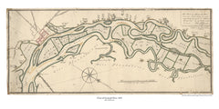 Chart of Savannah River, 1825