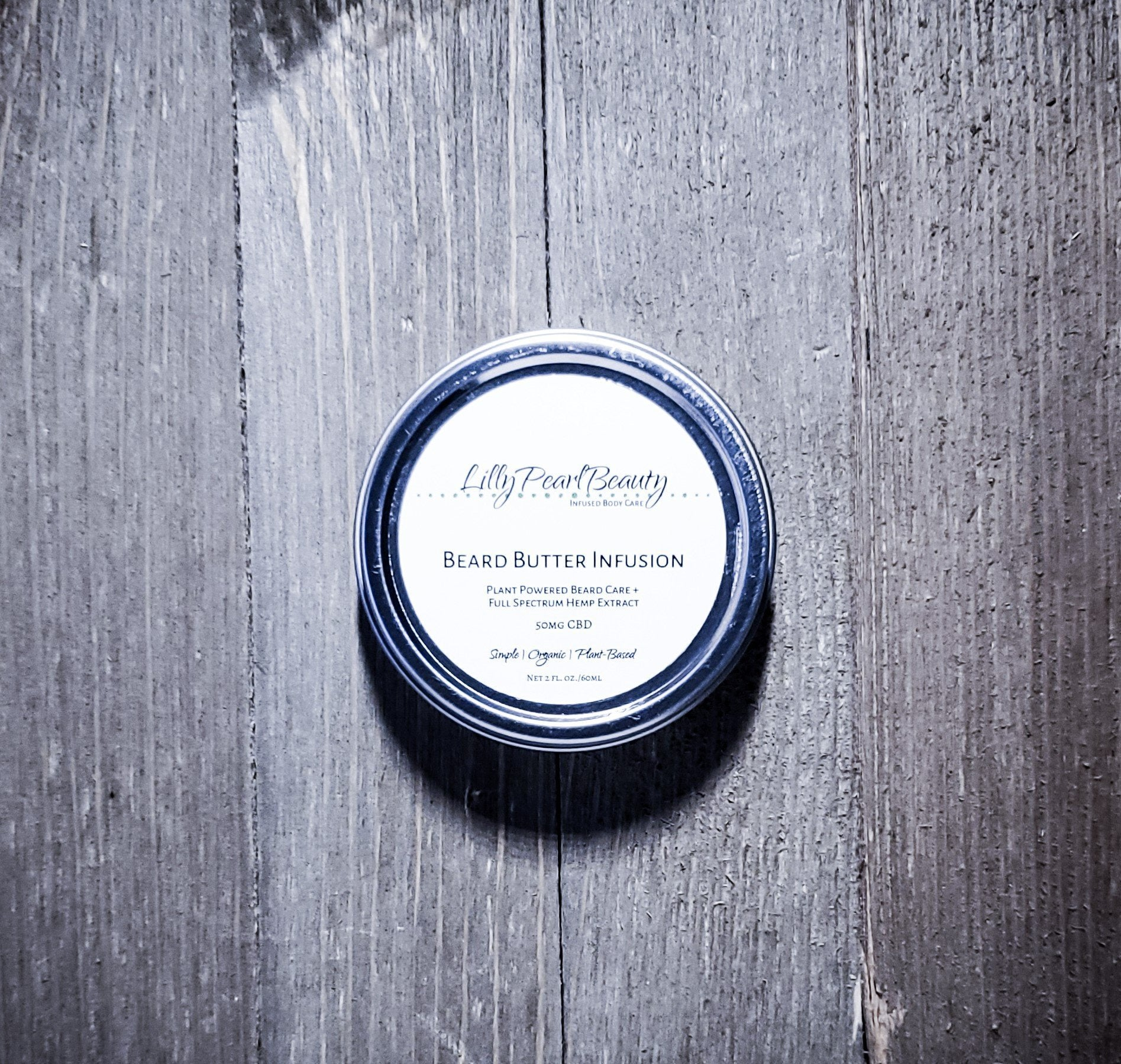 Beard Butter Infusion - LillyPearlBeautyco.