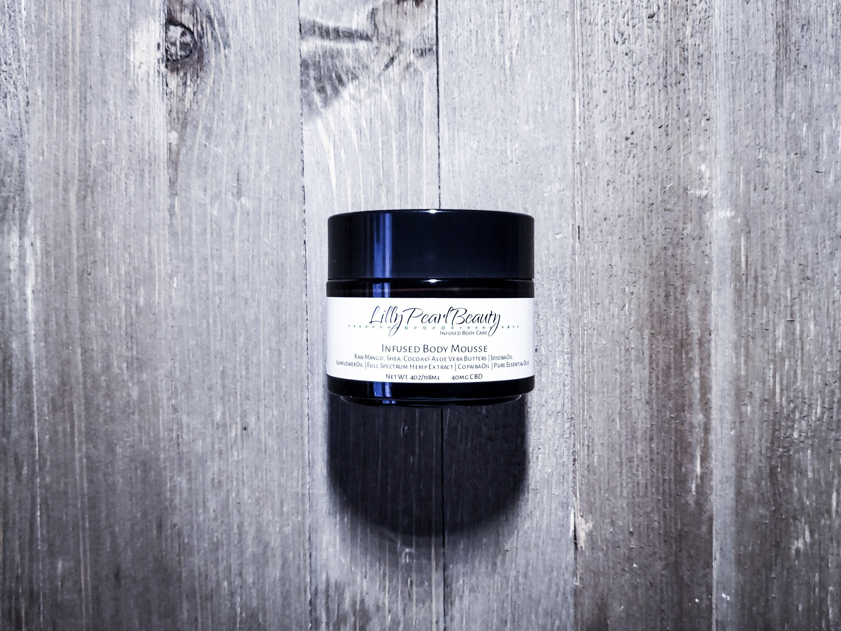 Infused Body Mousse - LillyPearlBeautyco.