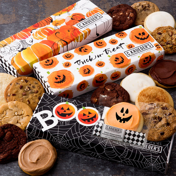 Halloween Half Dozen Sampler - Select Your Cookies