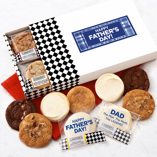 Happy Father's Day Slide Cookie Gift Boxes - All Kinds