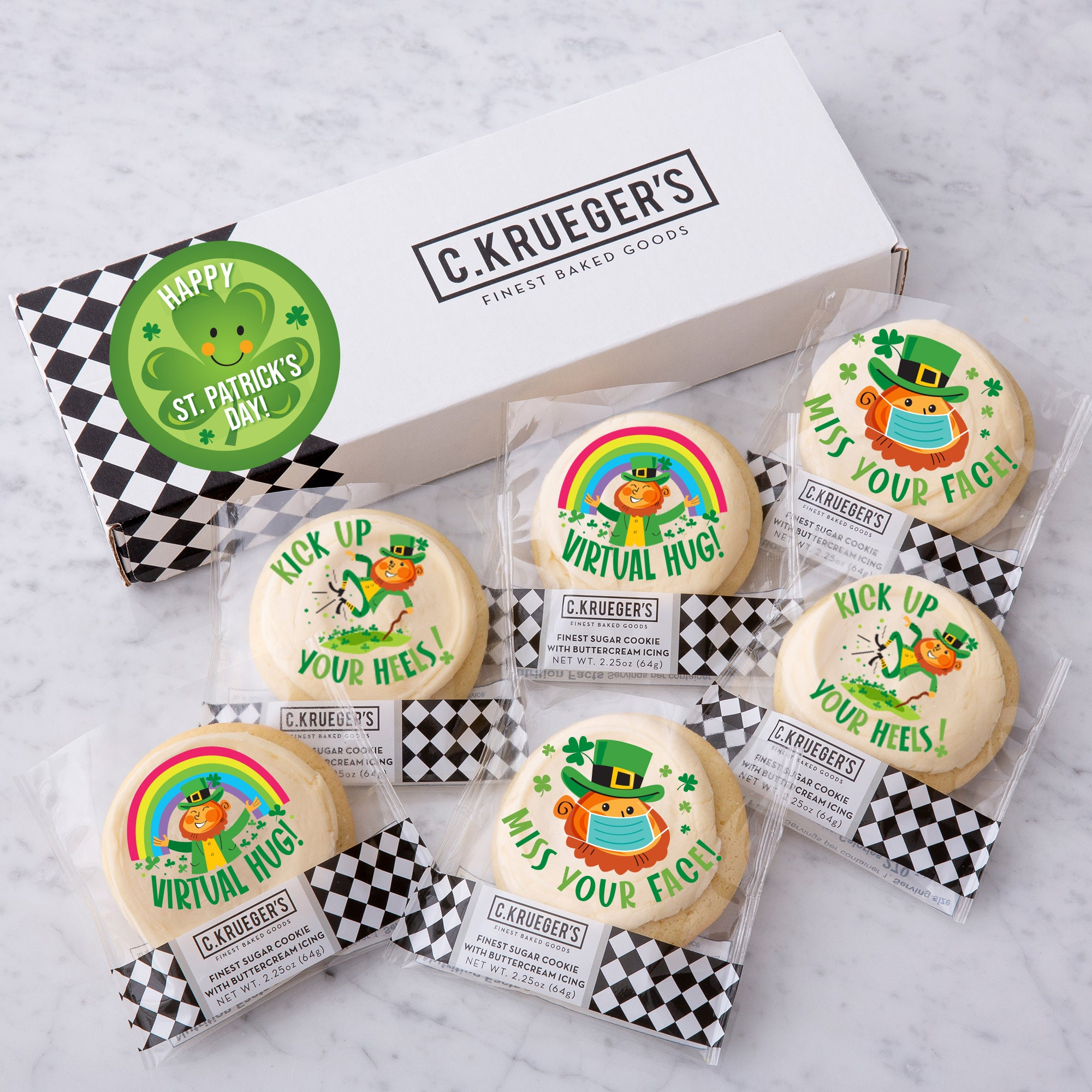 Half Dozen Sampler - St. Patrick's 2021 Iced Messages