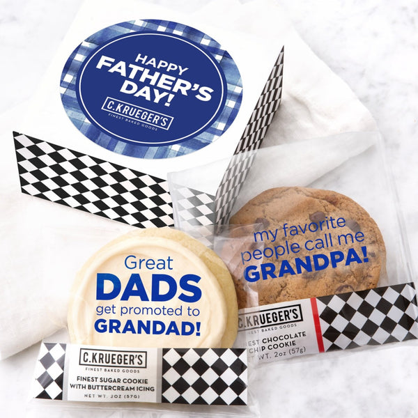 Happy Father's Day Duo Sampler -  Select Your Own Message